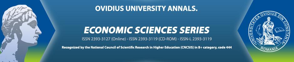 Analele Universităţii Ovidius, Seria: Ştiinţe Economice